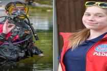 13-letnia Charlotte Burns zostanie najmłodszą osobą, która zanurkuje w islandzkiej Silfrze