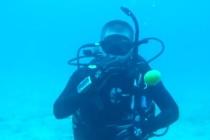 Co się stanie z jajkiem rozbitym pod wodą? – video