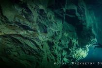 Hranicka Propast: Krzysztof Starnawski ustanowił nowy rekord Polski w nurkowaniu jaskiniowym!
