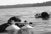 Śmiertelny wypadek na Hańczy, utonął 43-letni nurek