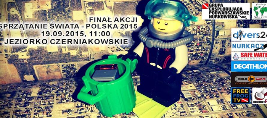 Jeziorko Czerniakowskie – Finał Sprzątania Świata Polska 2015!