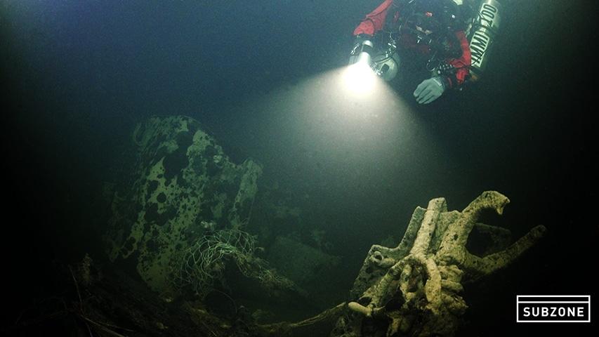 Eksploracja wraku okrętu podwodnego U-679