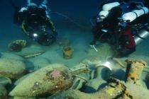 Nurkowie GUE zbadali starożytny rzymski wrak w głębokich wodach Morza Śródziemnego