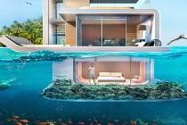 """""""Sea horse"""" – bajeczny pływający dom z podwodną sypialnią – galeria"""