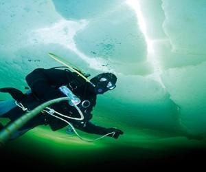 Rosjanie ustanowili rekord w najgłębszym nurkowaniu podlodowym! – video