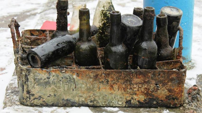 Buteleczki z jeziora