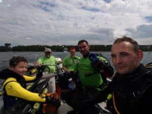 Sprzątanie Jeziora Dominieckiego 2016