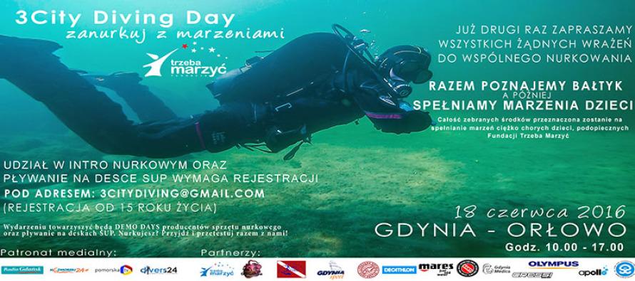 Spełniamy marzenia dzieciaków – 3City Diving Day!