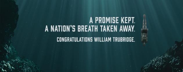 William Trubridge ustanowił nowy rekord świata w konkurencji CNF! – video