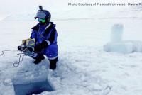 Podwodne roboty szukają zaginionego wraku w Arktyce – video