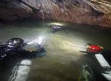 Nurkowie ze Skandynawii eksplorowali jaskinię w Karpatach – video