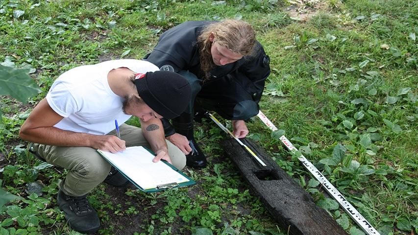 Badania archeologiczne, Przesmyk Płaskie, pojezierze Iławskie