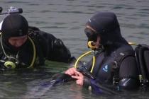 Nurkowanie w zalanej kopalni odkrywkowej Honoratka