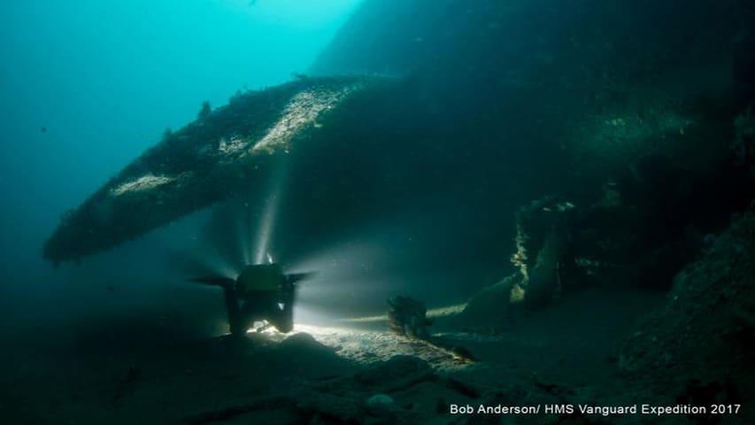 HMS Vanguard Dive 1