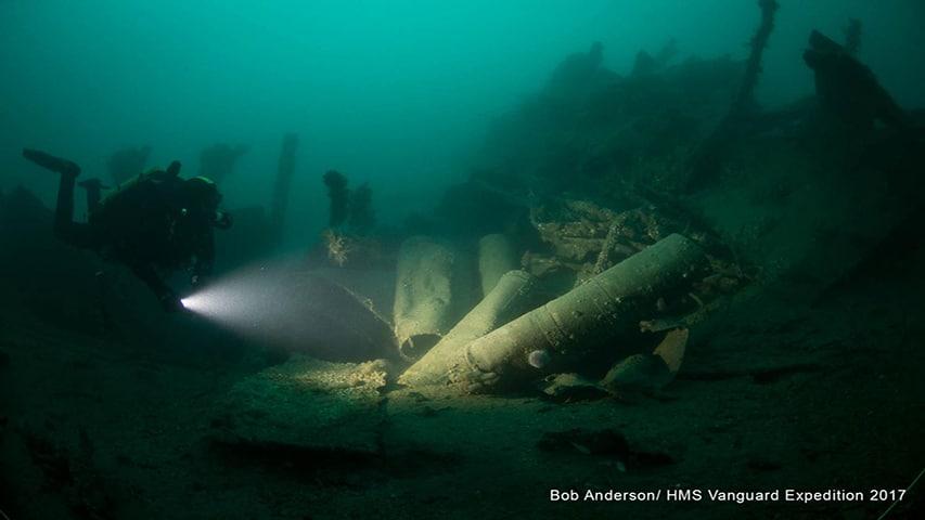 HMS Vanguard Dive 2