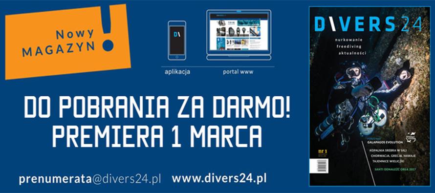 Magazyn Divers24 – premiera 1 marca!