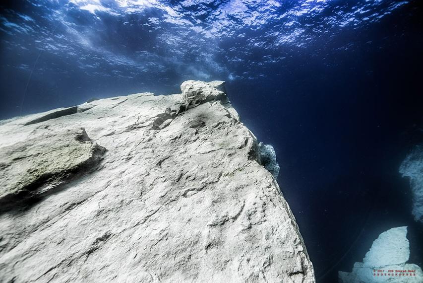 nurkowanie Gozo formacje skalne