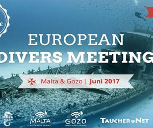 European Divers Meeting – spotkanie nurków z Europy na Malcie