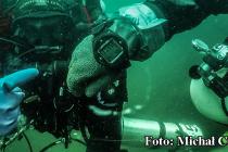 Sebastian Marczewski zanurkował na 241 m! Nowy rekord służb mundurowych!
