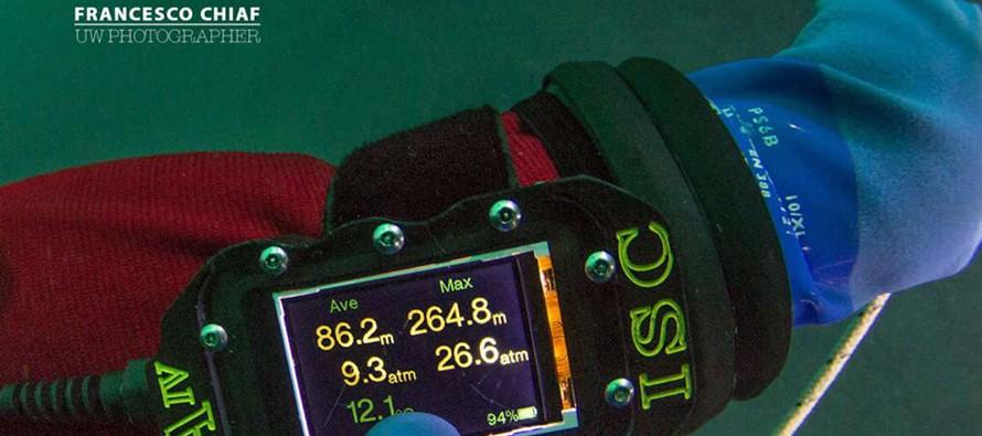 Rekord Włoch ustanowiony na jeziorze Garda – 264 m!
