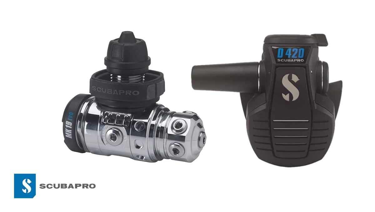 Nowy zestaw automatów Scubapro MK19 EVO i D420