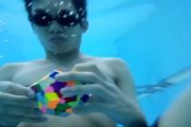 Chłopak z Malezji ułożył 12-ścienną kostkę Rubika na wstrzymanym oddechu – video