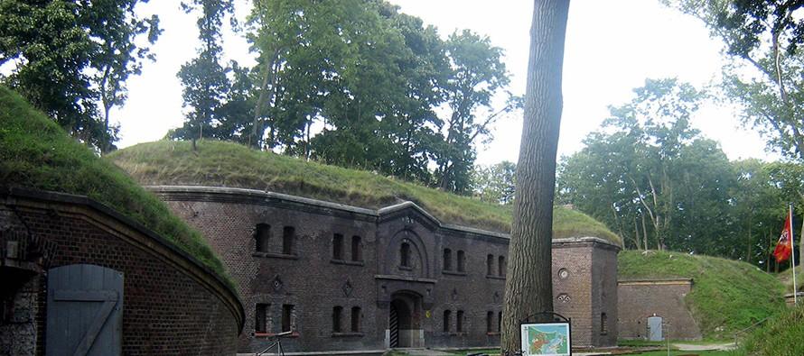 Zatopiony skarb w fosie Fortu Gerharda?