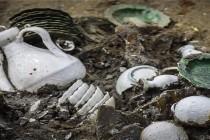 Tysiące skarbów znalezione w chińskim wraku