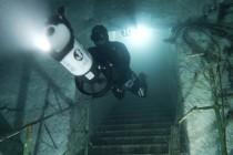 Freediving w zalanych jaskiniach i kopalniach – video