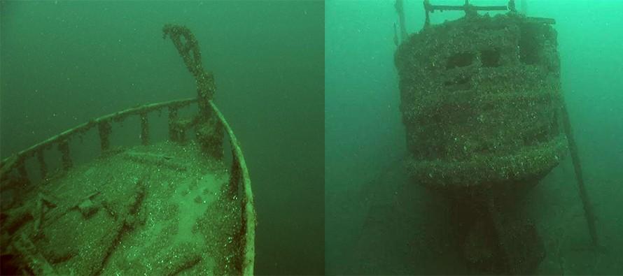 Odnaleźli wrak parowca, który zatonął 136 lat temu