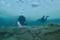 Poszukiwanie artefaktów sprzed 1500 lat i najgłębsze nurkowanie podlodowe?