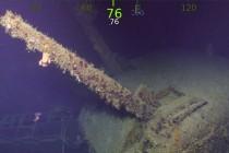 """Odnaleziono wrak krążownika USS """"Helena"""" z 1943r. – video"""