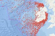 Irlandia udostępniła mapę 18.000 wraków