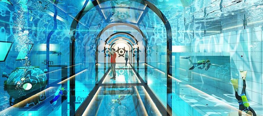 W Polsce powstaje najgłębszy basen na świecie!