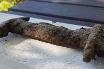 Miecz sprzed 1500 lat odnaleziony w jeziorze