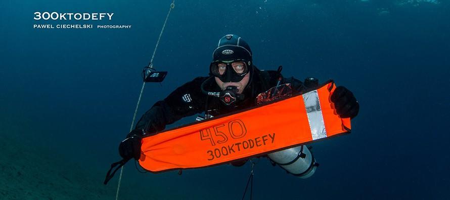 Jest rekord – 450km pod wodą w 30 dni!