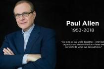 W wieku 65 lat zmarł Paul Allen