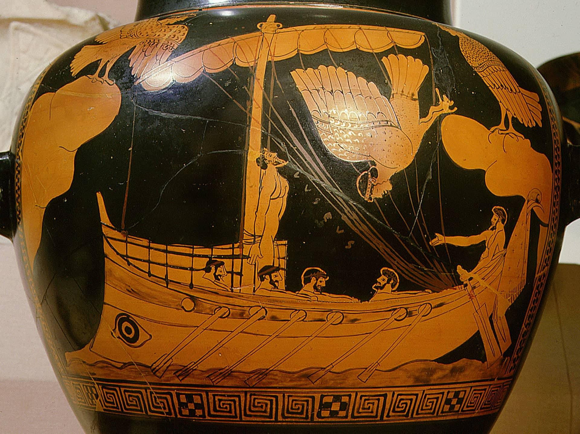 waza przedstawiająca podobną jednostkę do odkrytego wraku