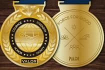 PADI przyznaje medale za męstwo dla ratowników