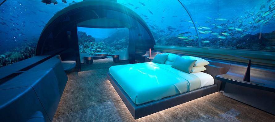 Podwodny hotel otwiera się na Malediwach