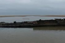 Wrak U-boota odsłonięty u wybrzeży Francji