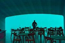 Under – pierwsza podwodna restauracja w Europie otwarta! -video