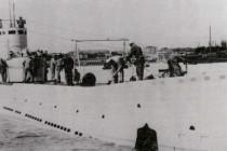 Pierwsze nurkowanie na wraku okrętu podwodnego L-2