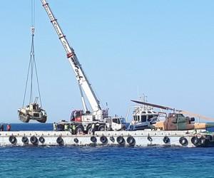 W Jordanii powstało podwodne muzeum pojazdów wojskowych – video