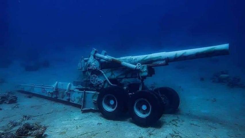 Jordania podwodne muzeum pojazdów wojskowych