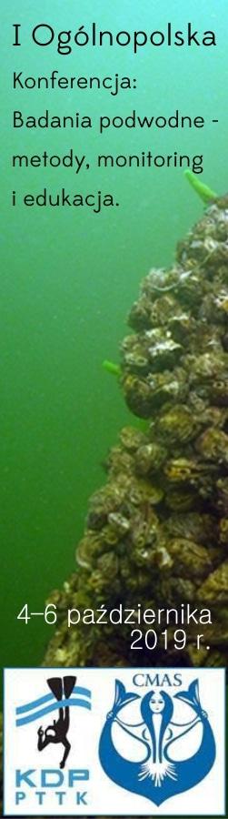 I ogolnopolska konferencja – badania podwodne