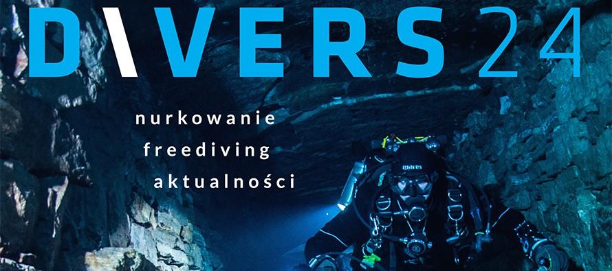 Numer 10 Magazynu DIVERS24 i konkurs – wygraj SHEARWATER TERIC! – Premiera