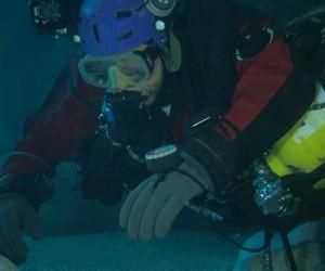 222 m Krzysztofa Starnawskiego w jaskini Sorgente del Gorgazzo! – video