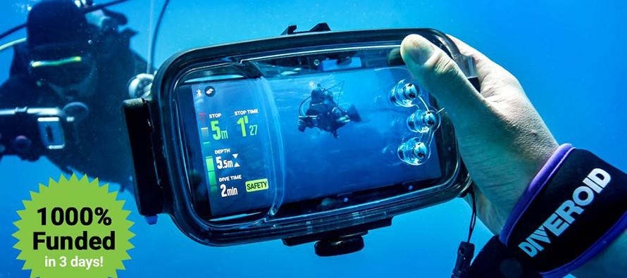 Diveroid – fotografia podwodna przy użyciu smartfona? – video