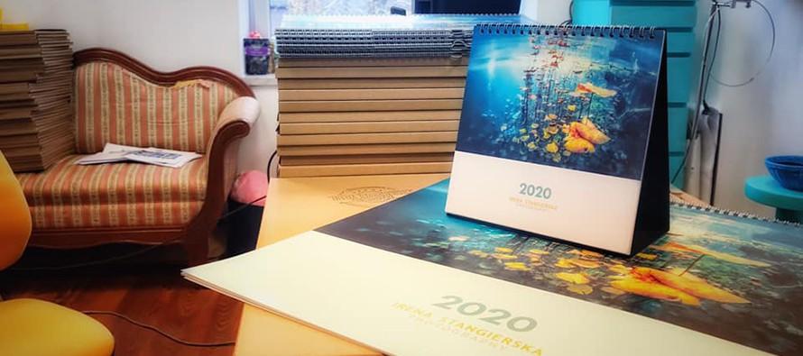 Kalendarze Ireny Stangierskiej na rok 2020 – idealny prezent!
